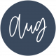 New Day Month Labels- Navy Blue August