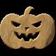 Bootiful- Wood Pumpkin 01