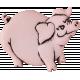 Design Pieces No.3: At The Farm - Pig