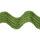 A Little Sparkle {Elements}- Green Ric Rac Ribbon