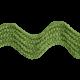 A Little Sparkle {Elements}- Green Ric Rac Ribbon
