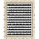 A Little Sparkle {Elements}- Vintage Glitter Square Stamp Frame