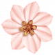 Work Day- Fabric Flower