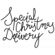 Christmas Day Elements- Word Art Special Christmas Delivery