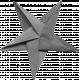Folded Stars Templates - Star 2