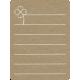 Toolbox Calendar 2 - Monthly Doodled Journal Card - Clover 2