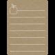 Toolbox Calendar 2 - Monthly Doodled Journal Card - Apple