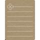 Toolbox Calendar 2 - Monthly Doodled Journal Card - Clover