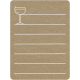 Toolbox Calendar 2 - Monthly Doodled Journal Card - Drink