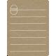 Toolbox Calendar 2 - Monthly Doodled Journal Card - Egg