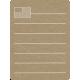 Toolbox Calendar 2 - Monthly Doodled Journal Card - Flag