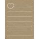 Toolbox Calendar 2 - Monthly Doodled Journal Card - Heart 2