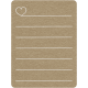 Toolbox Calendar 2 - Monthly Doodled Journal Card - Heart