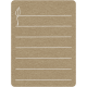 Toolbox Calendar 2 - Monthly Doodled Journal Card - Leaf 2