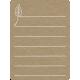 Toolbox Calendar 2 - Monthly Doodled Journal Card - Leaf 3