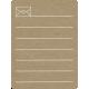 Toolbox Calendar 2 - Monthly Doodled Journal Card - Letter