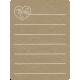 Toolbox Calendar 2 - Monthly Doodled Journal Card - Mom