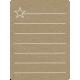 Toolbox Calendar 2 - Monthly Doodled Journal Card - Star 2
