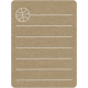 Toolbox Calendar 2 - School Doodled Journal Card - Basketball