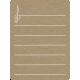 Toolbox Calendar 2- School Doodled Journal Card- Treble Clef