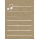 Toolbox Calendar 2 - School Doodled Journal Card - Music Notes