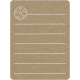Toolbox Calendar 2 - School Doodled Journal Card - Soccer Ball