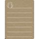 Toolbox Calendar 2 - School Doodled Journal Card - Baseball