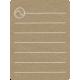 Toolbox Calendar 2 - School Doodled Journal Card - Tennis