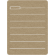 Toolbox Calendar 2 - School Doodled Journal Card - Pencil
