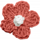 Crafty Evening Mini- Crocheted Flower