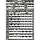 Toolbox Calendar- Metal Shopping Bag Doodle