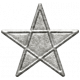 Toolbox Calendar- Metal Star Doodle 3