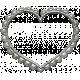Toolbox Calendar- Metal Scalloped Heart Doodle 2