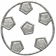 Toolbox Calendar- Metal Soccer Ball Doodle