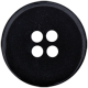 Bad Day- Black Button- 4-Hole