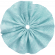 For The Love Of My Girls- Blue Fabric Flower