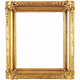 A Mother's Love- Ornate Wood Frame- Gold