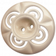 A Mother's Love- Cream Button