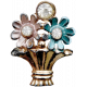 A Mother's Love- Flowers Brooch