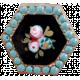 A Mother's Love- Hexagonal Button