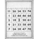 Bingo Card Template 003
