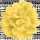 Summer Day- Yellow Silk Flower
