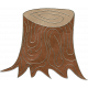 Back To Nature - Tree Stump Doodle