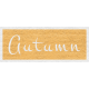Enchanting Autumn- Autumn Word Art
