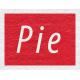 Enchanting Autumn- Pie Word Art
