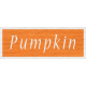 Enchanting Autumn- Pumpkin Word Art