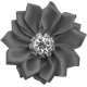 Ribbon Flower Template 019