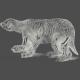 Chills & Thrills Bear Chalk Skeleton Stamp
