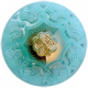 All the Princesses- Teal Button 3