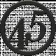 Toolbox Numbers- Black Circle Number 45